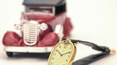 Mido Bugattiother model on leather strapMIDO min