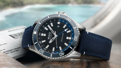 Mido Ocean Star GMT introducing 1