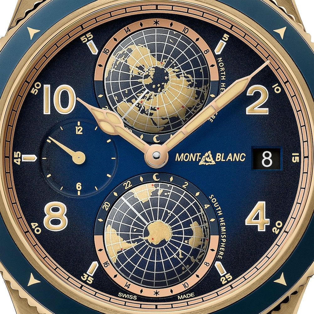 Montblanc 1858 Geosphere Messner Limited Edition 4 min