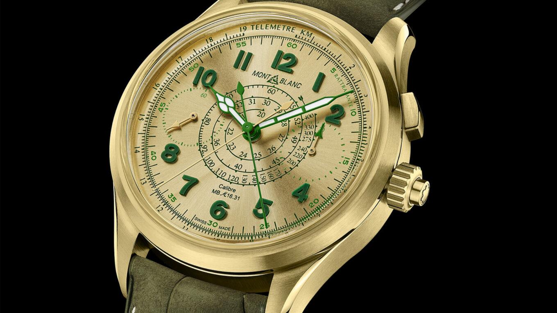 Montblanc 1858 Split Second Chronograph LE18 2