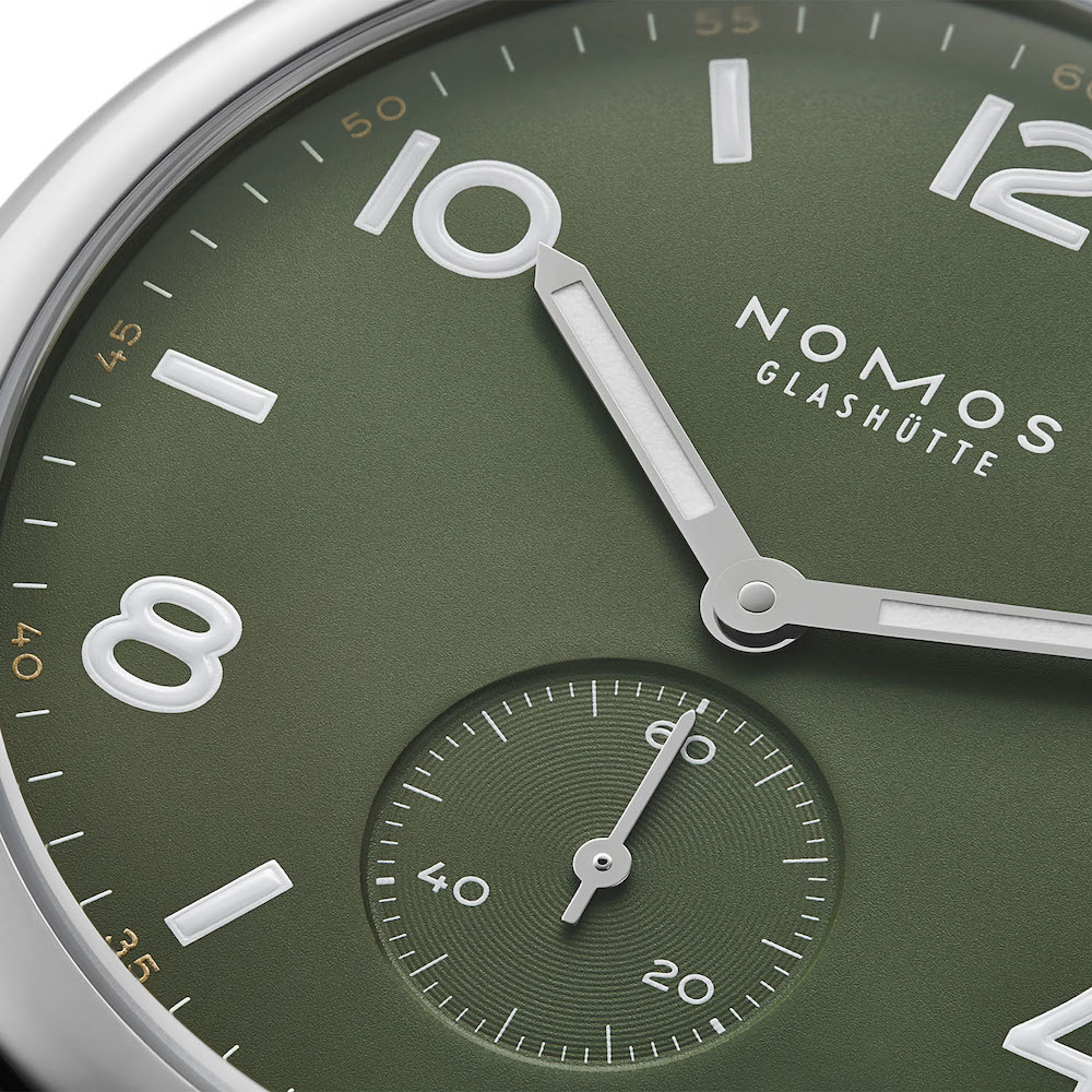 Nomos Club Automatic 175th anniversary limited editions 11