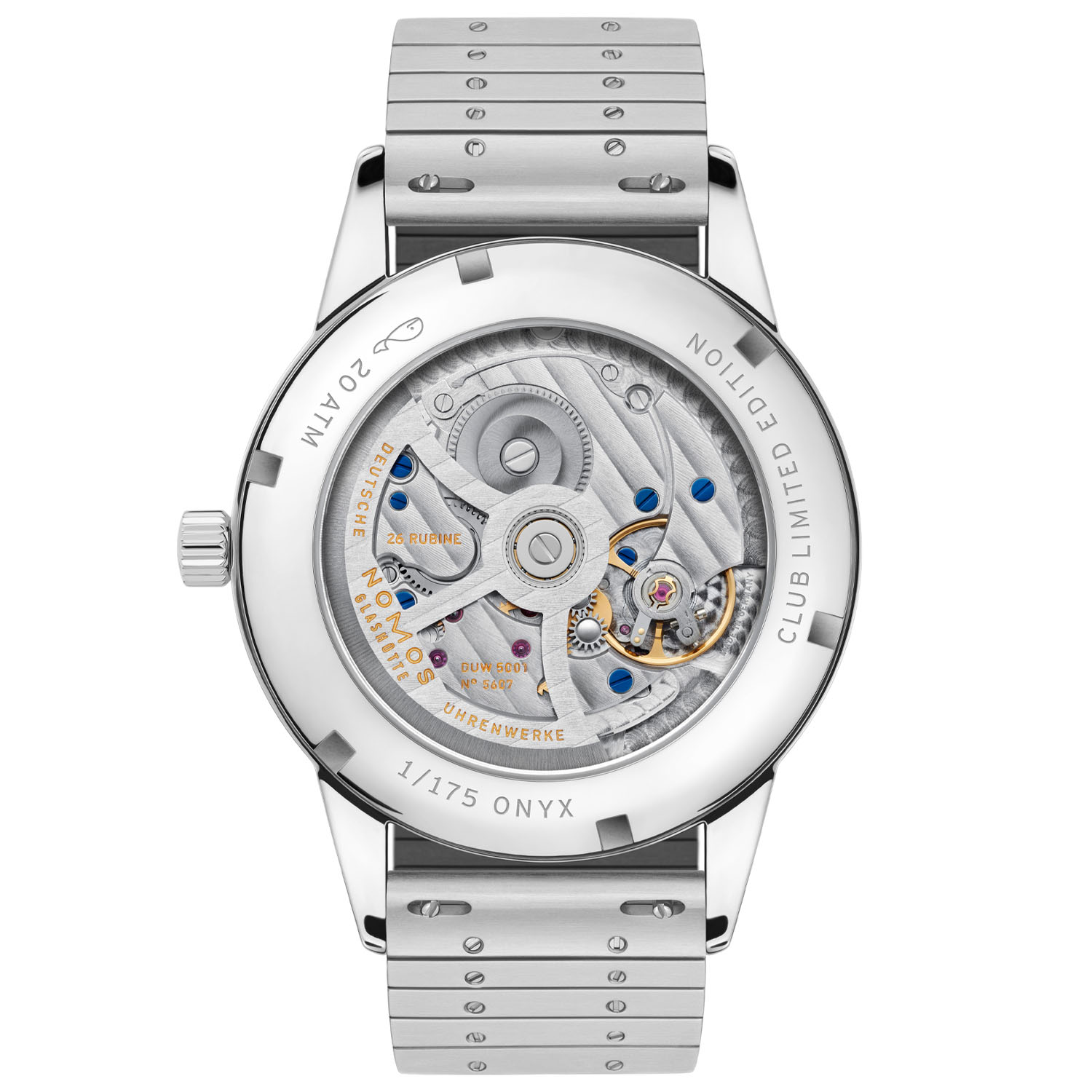 Nomos Club Automatic 175th anniversary limited editions 4