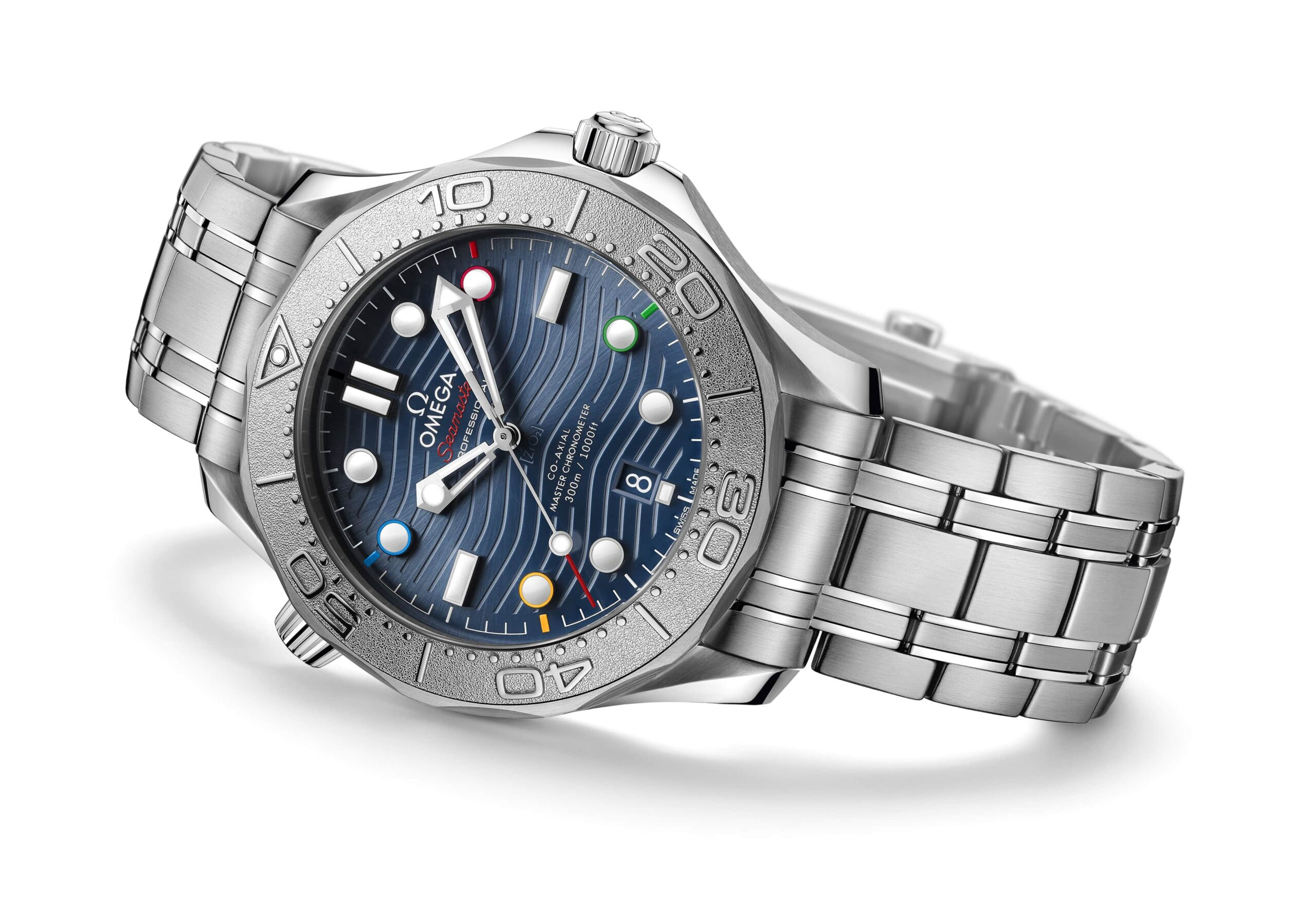"""Omega Seamaster Diver 300M """"Beijing 2022"""" Special Edition ref. 522.30.42.20.03.001"""