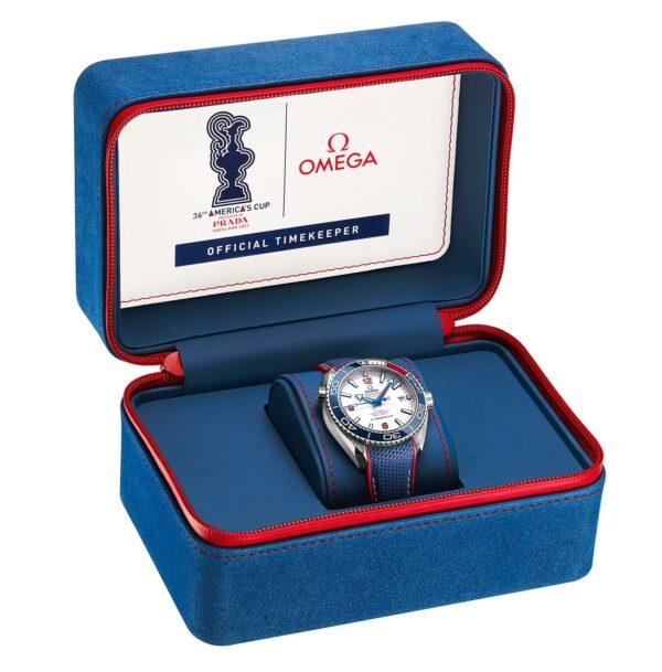 OMEGA seamaster PO Americas Cup 2020 box