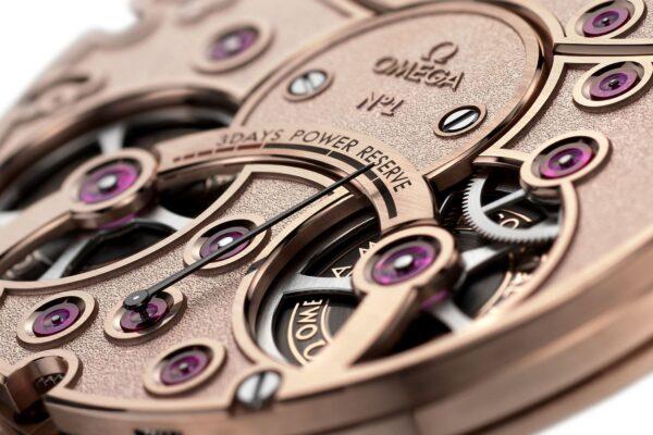 Omega De Ville Tourbillon Co Axial Master Chronometer Antimagnetic 2 min