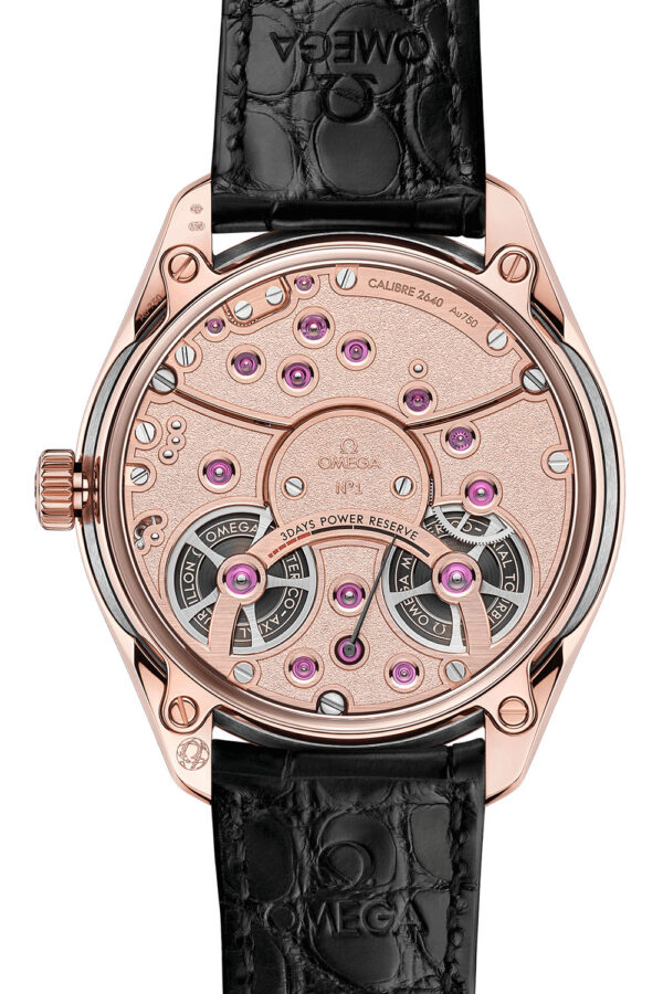 Omega De Ville Tourbillon Co Axial Master Chronometer Antimagnetic 4