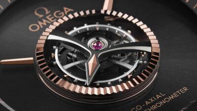 Omega De Ville Tourbillon Numbered Edition Watch Anti Magnetic Master Chronometer Certified DeVille Central Tourbillon aBlogtoWatch featured