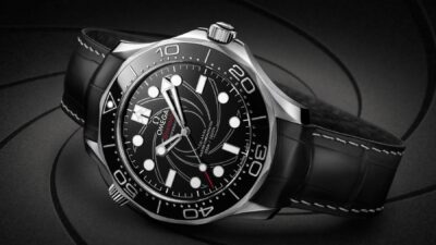 Omega Seamaster 300M Diver James Bond numbered edition watch 2