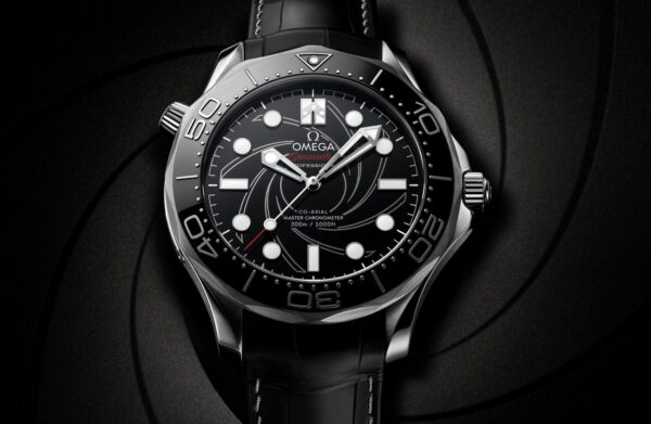Omega Seamaster 300M Diver James Bond numbered edition watch 4