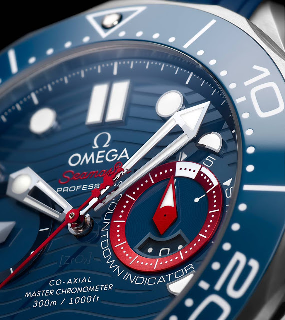 Omega Seamaster Diver 300M Americas Cup Chronograph 210 30 44 51 03 002 005