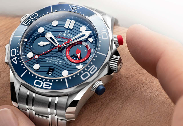 Omega Seamaster Diver 300M Americas Cup Chronograph 210 30 44 51 03 002 012