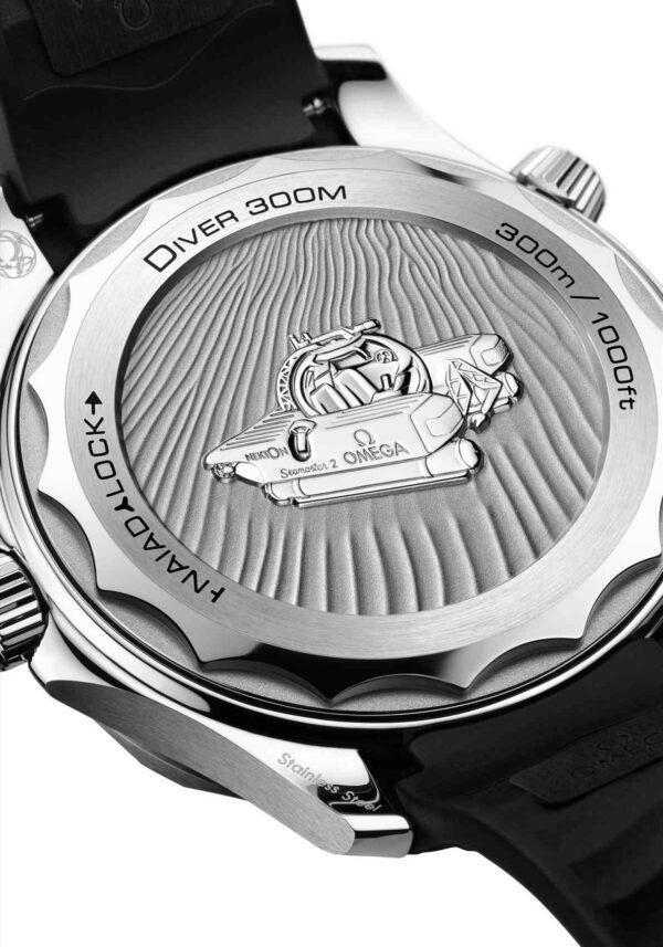 Omega Seamaster Diver 300M Nekton Edition back.deta