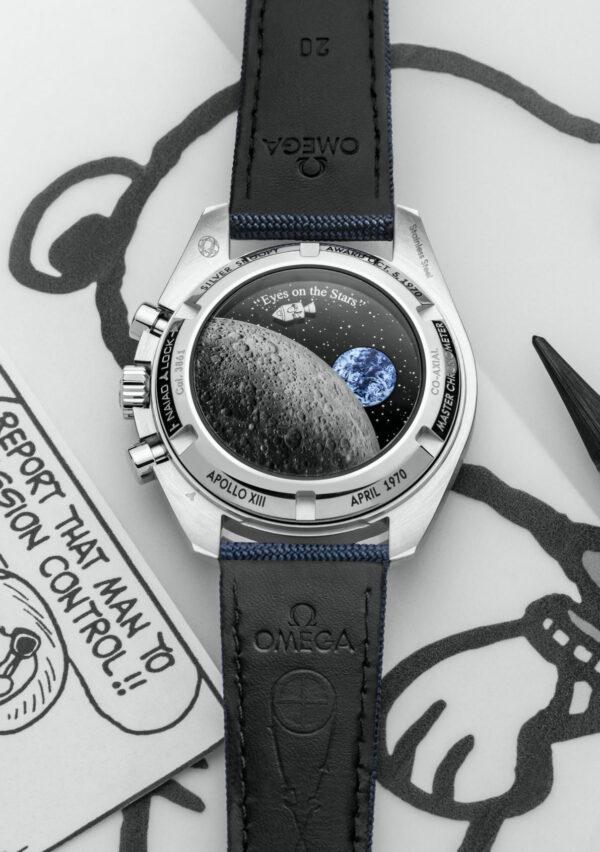 Omega Speedmaster Silver Snoopy Award 50th Anniversary 310.32.42.50.02.001 2