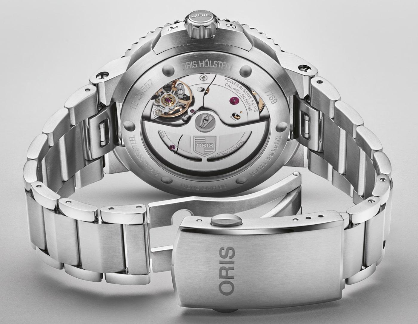Oris Aquis Date Calibre 400 41mm 2 min