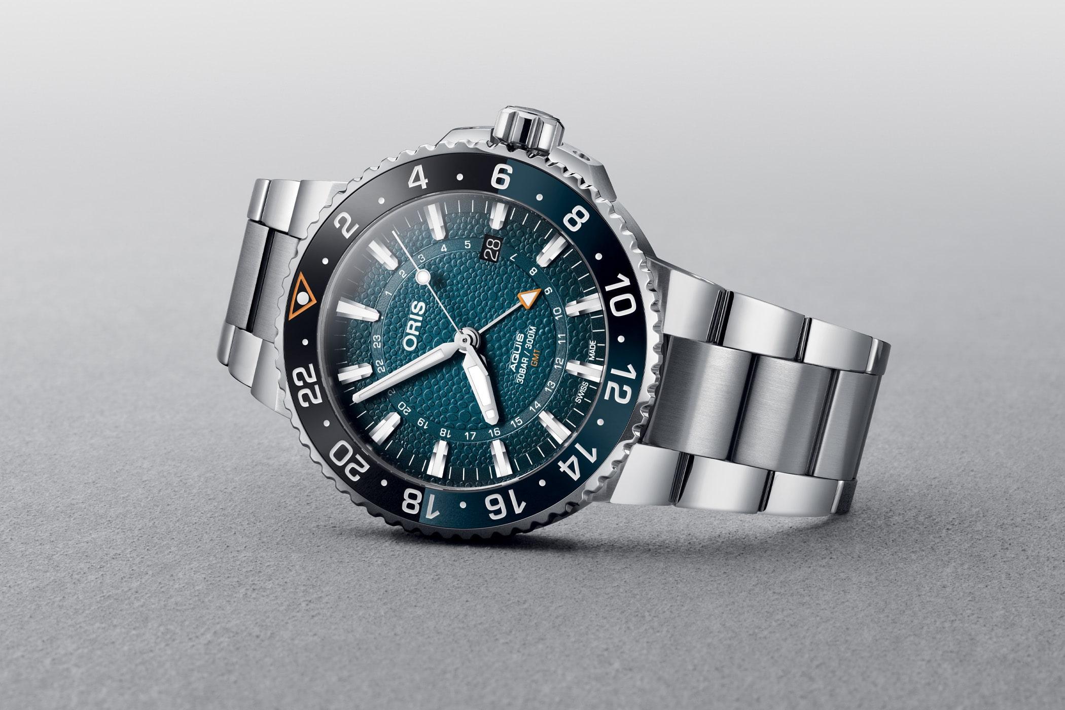 Oris Aquis GMT Date Whale Shark Limited Edition 01 798 7754 4175 Set 1 min