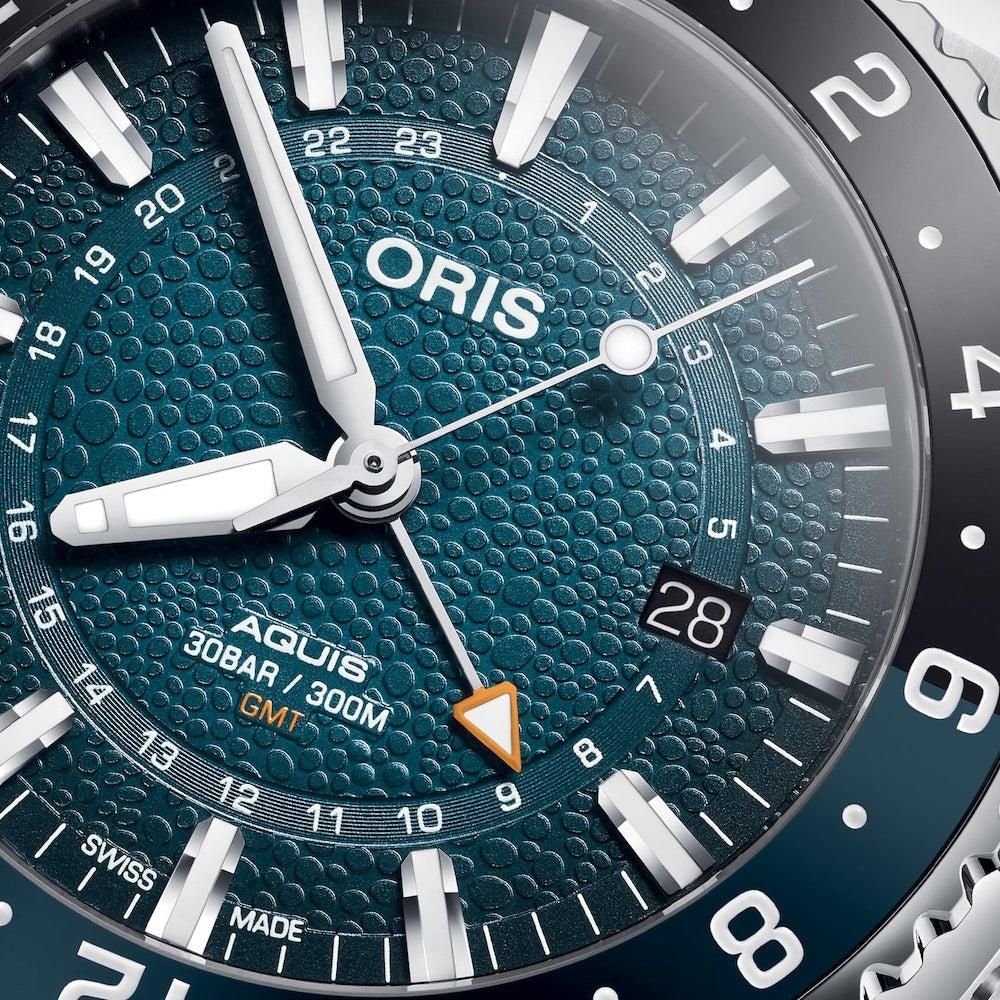 Oris Aquis GMT Date Whale Shark Limited Edition 01 798 7754 4175 Set 2 min