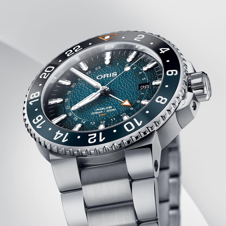 Oris Aquis GMT Date Whale Shark Limited Edition 01 798 7754 4175 Set 5 min