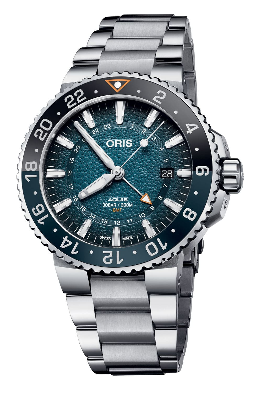 Oris Aquis GMT Date Whale Shark Limited Edition 01 798 7754 4175 Set 6 min