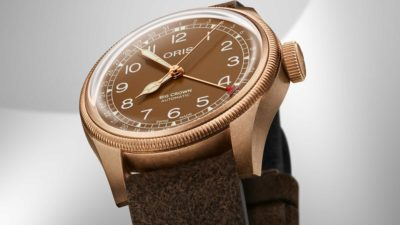Oris Big Crown Pointer Date Bronze 1