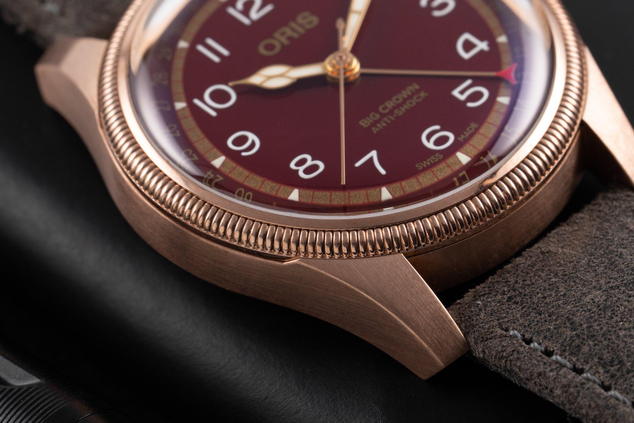 Oris Big Crown Pointer Date Fratello Edition Oxblood Bronze 7