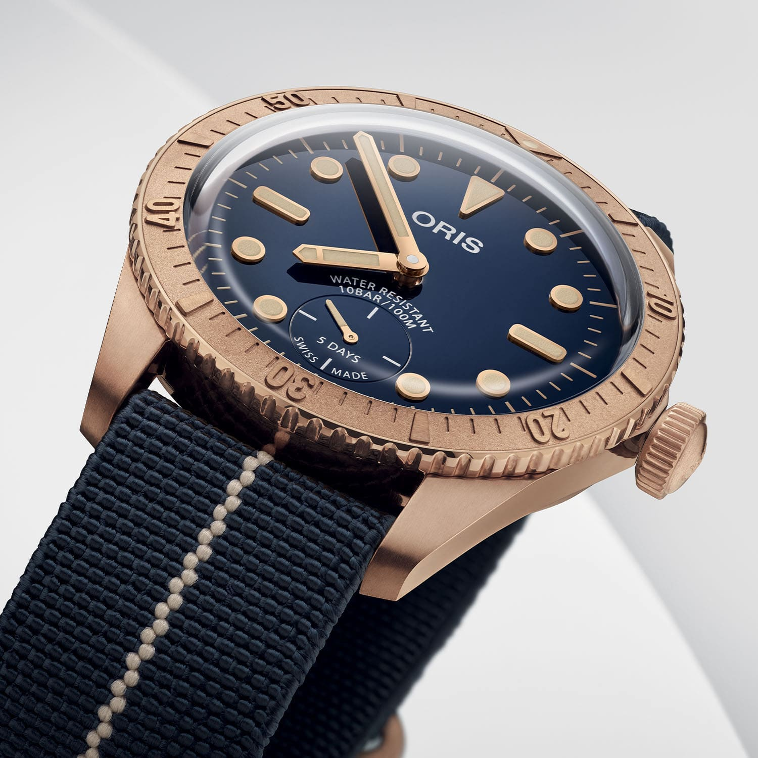 Oris Carl Brashear Calibre 401 Limited Edition 01 401 7764 3185 Set 8 min 1