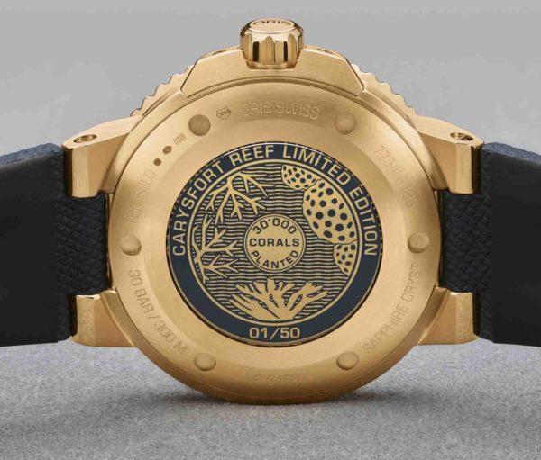Oris Carysfort Reef Gold Limited Edition 01 798 7754 6185-Set