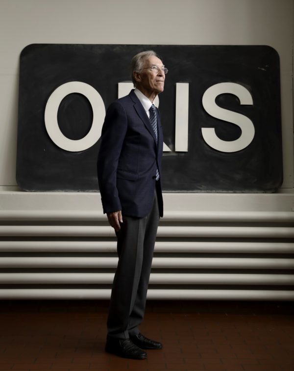 Oris's Honorary Chairman Dr Rolf Portmann