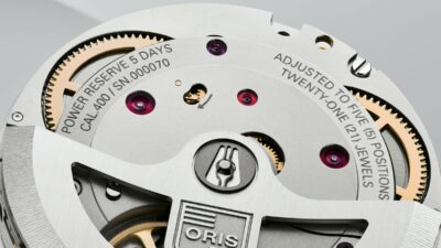 Oris movement Calibre 400 HighRes 12087