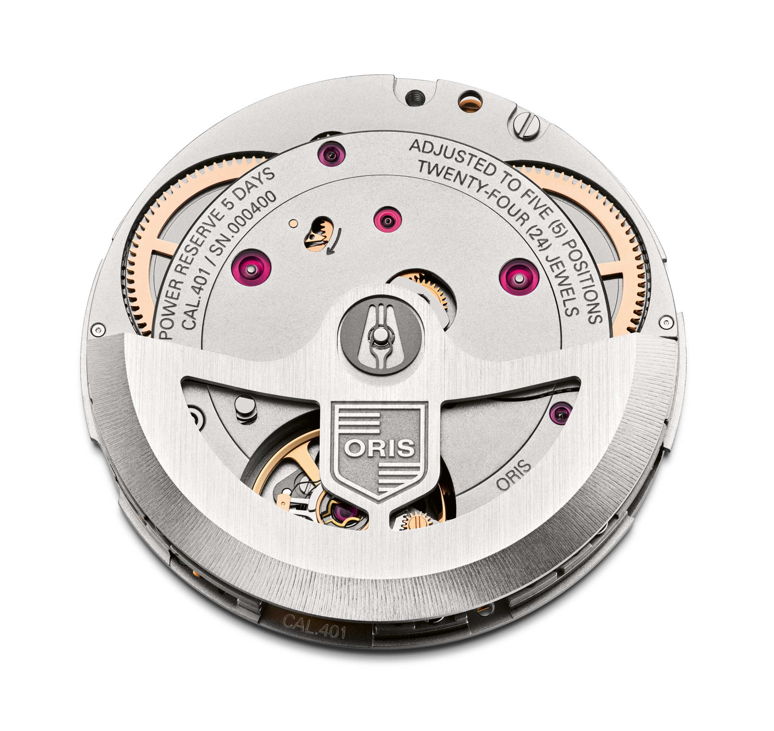 Oris movement Calibre 401 HighRes 12958