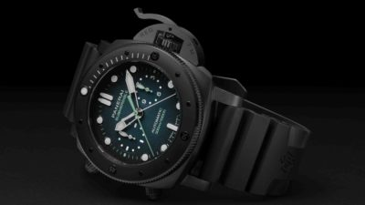 Officine Panerai Submersible Chrono Guillaume Néry Edition