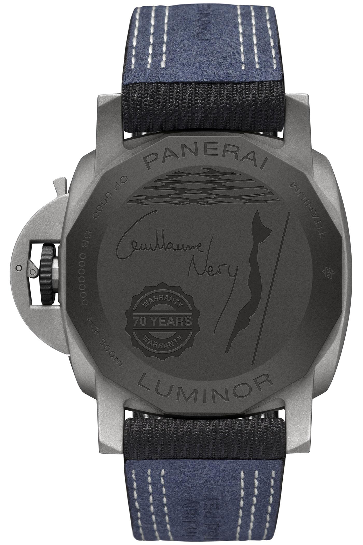Panerai Luminor Marina 44mm Guillaume Nery Edition 3 min