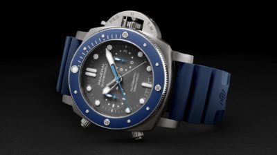 Panerai Submersible Chrono Guillaume Nery-Edition