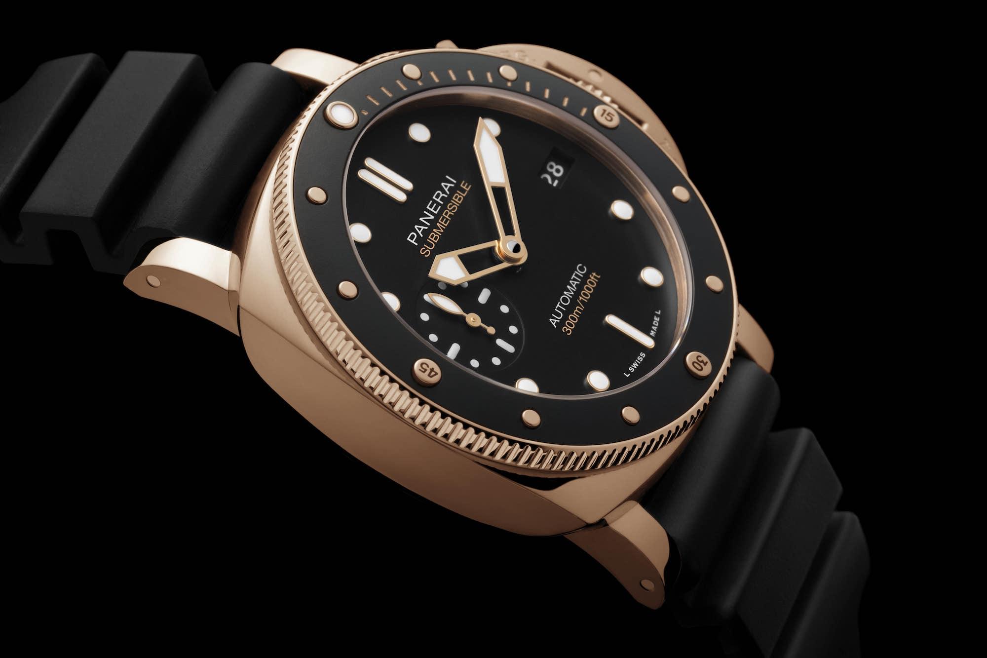 Panerai Pam1164 Submersible Goldtech™ 42mm 3 min