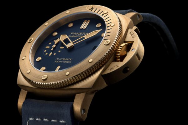 0fficine Panerai Submersible Bronzo Blu Abisso PAM01074
