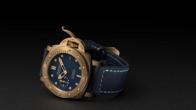 Panerai Submersible Blu Abisso Pam1074 05 min