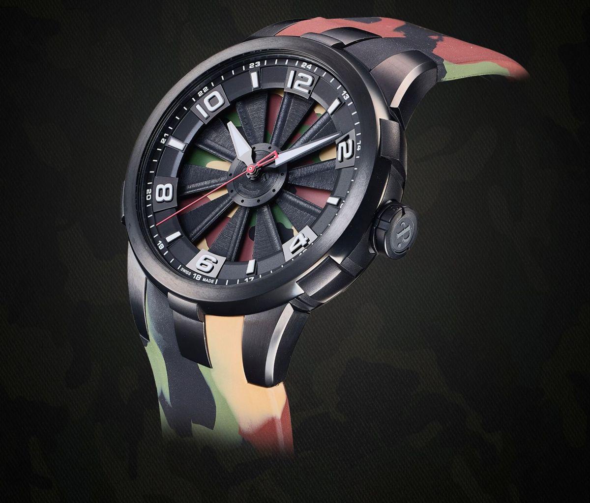 Perrelet Turbine Camo Limited Edition 4