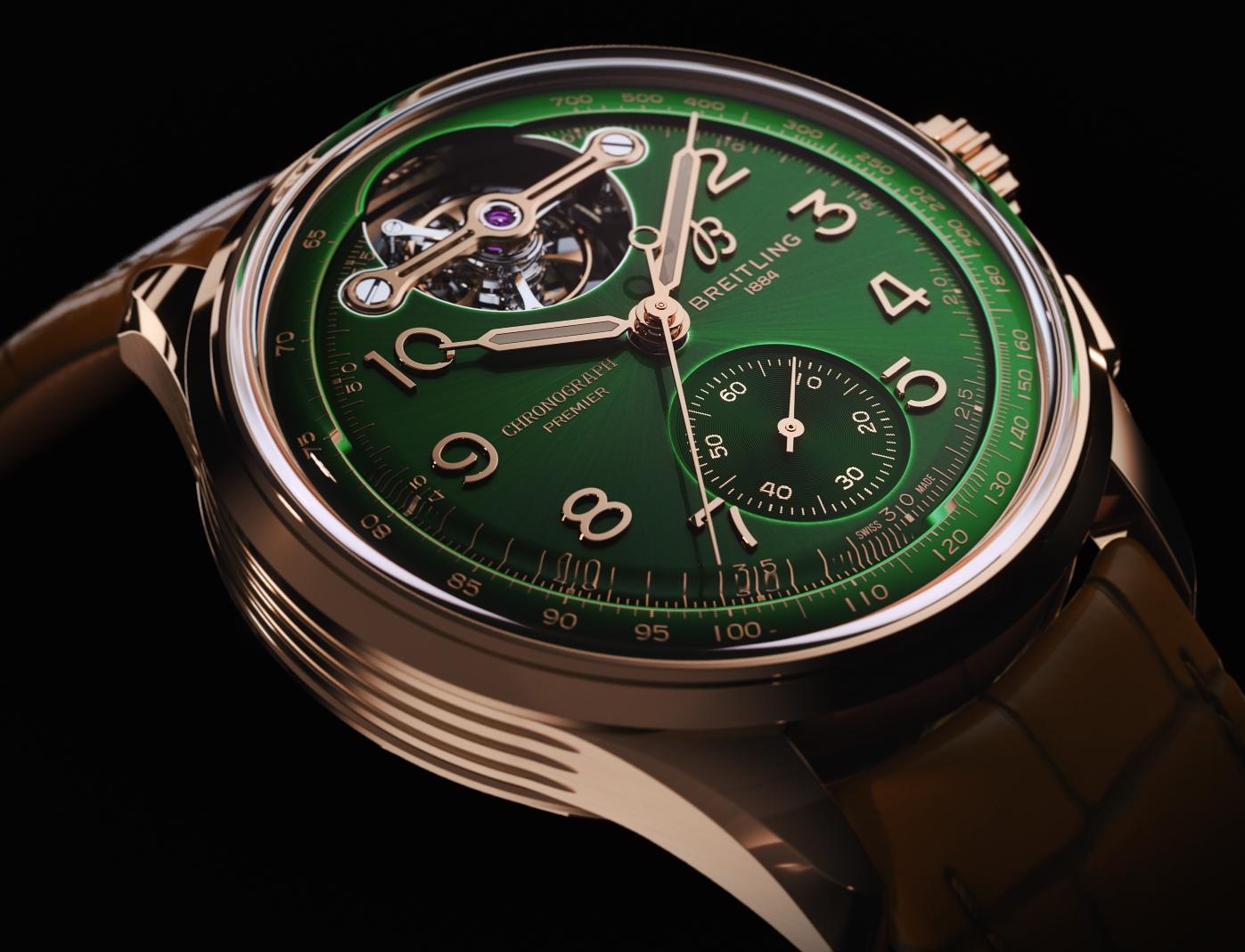 Premier B21 Chronograph Tourbillon 42 Bentley Limited Edition 5 1
