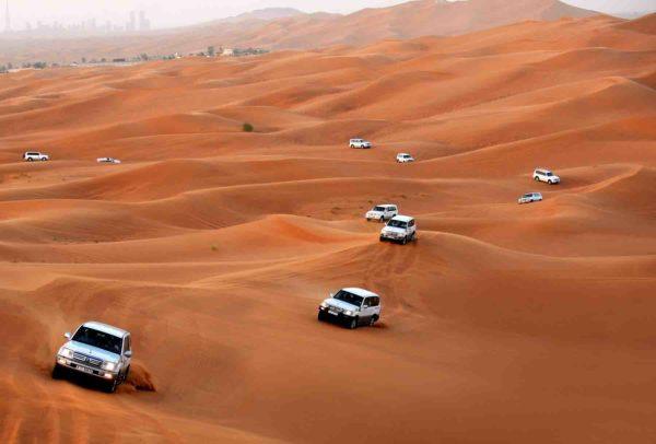 Pustinja oko Dubaija