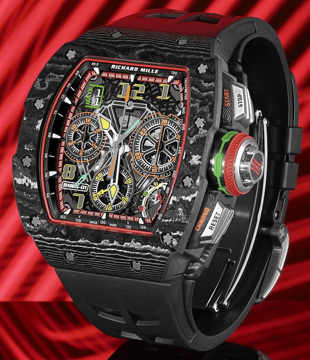 Richard Mille RM 65 01 Automatic Split Seconds Chronograph 2 min