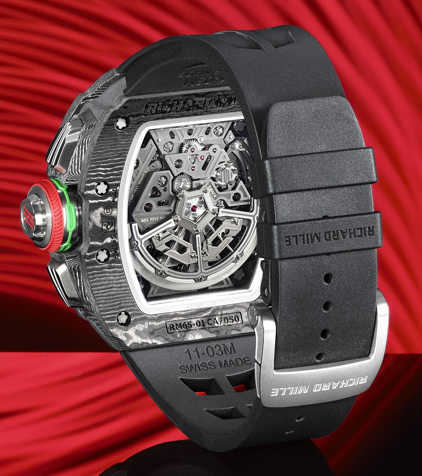 Richard Mille RM 65 01 Automatic Split Seconds Chronograph 3 min