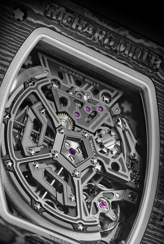 Richard Mille RM 65 01 Automatic Split Seconds Chronograph 4 min