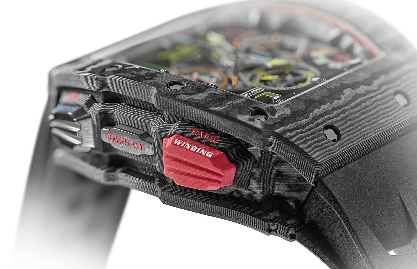 Richard Mille RM 65 01 Automatic Split Seconds Chronograph 5 min