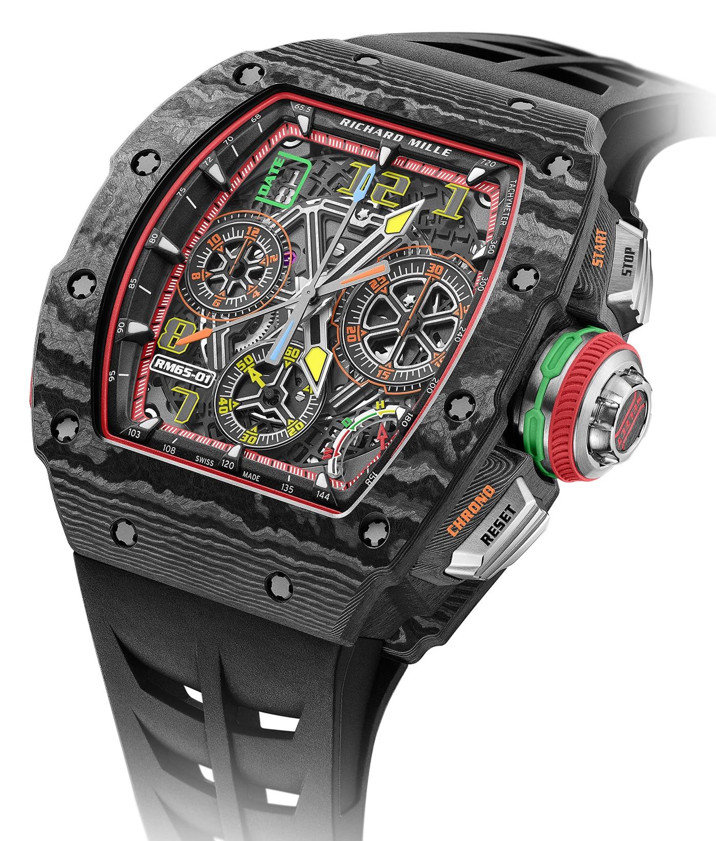 Richard Mille RM 65 01 Automatic Split Seconds Chronograph 7 min
