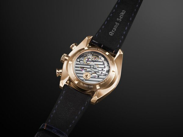 SBGC238 Grand Seiko Spring Drive Chronograph GMT 60th Anniversary Limited Edition
