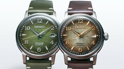 SEIKO PRESAGE COCKTAIL SRPF41J1 AND SRPF43J1