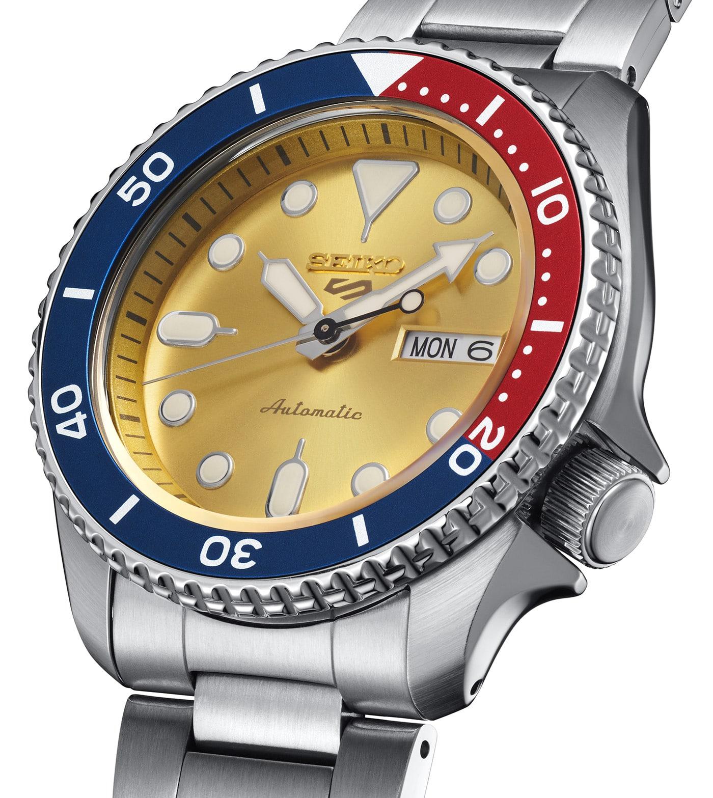 Seiko 5 Sports Custom Watch Beatmaker 2021 Limited Edition 2 min