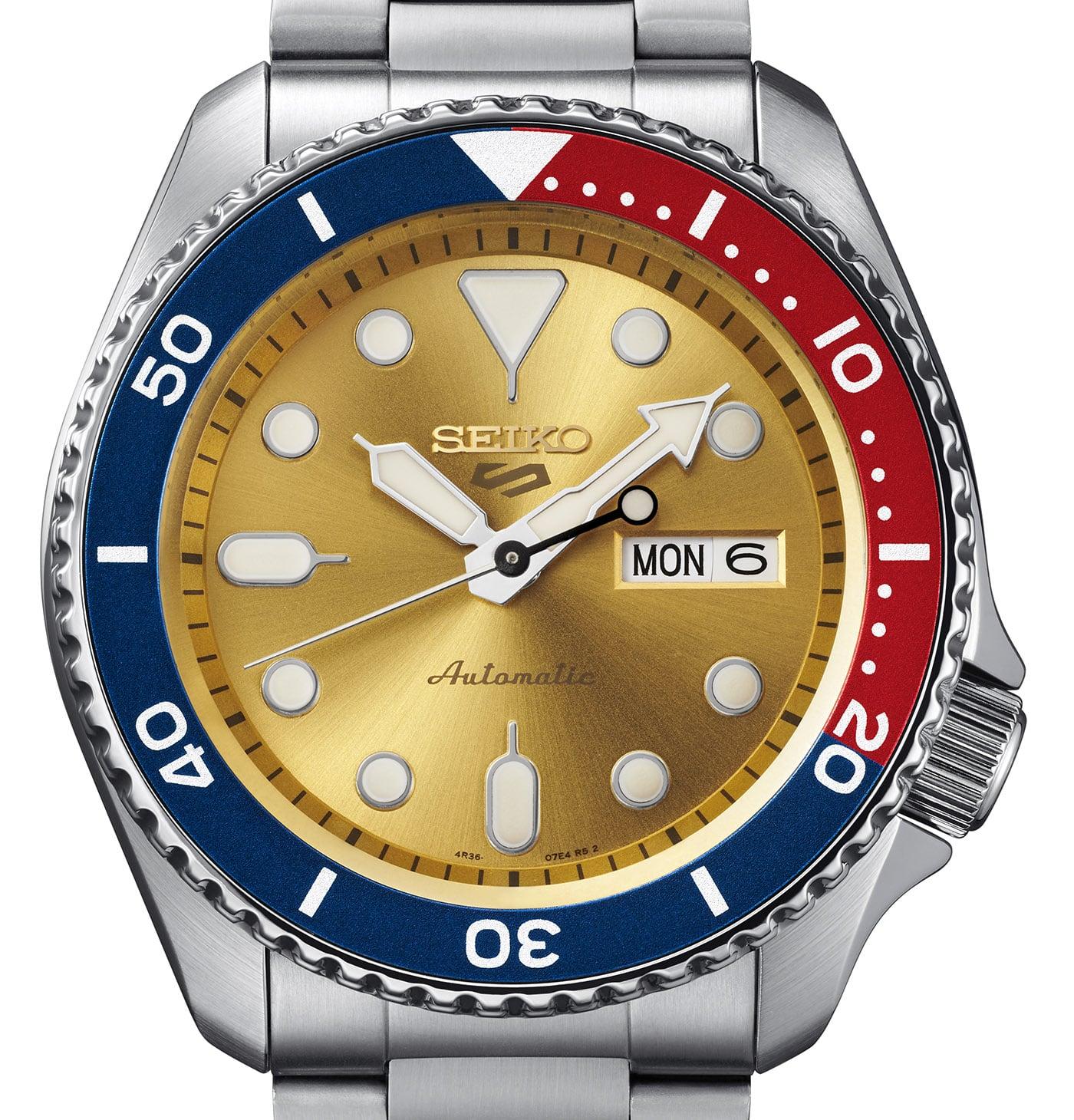 Seiko 5 Sports Custom Watch Beatmaker 2021 Limited Edition 4 min