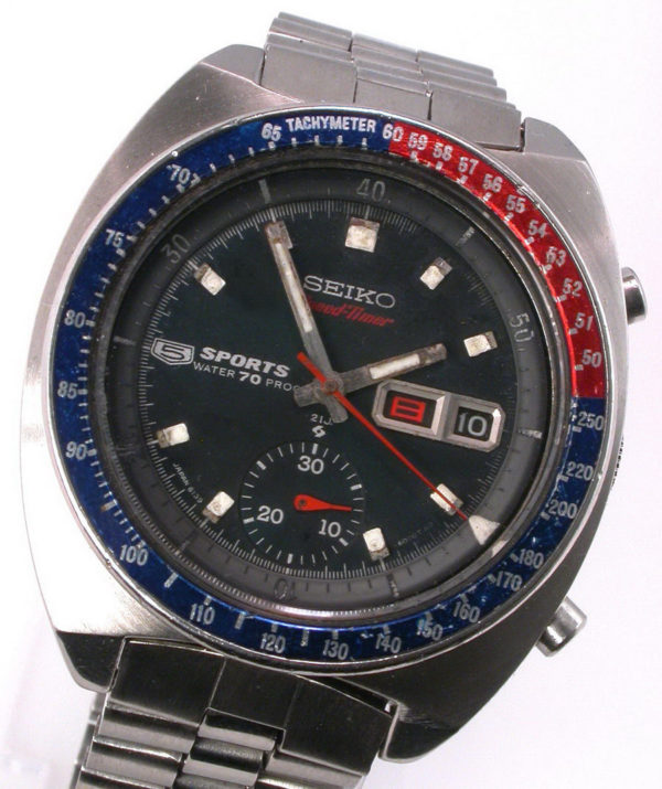 Seiko 5 Sports Speed Timer 6139 iz 1969.