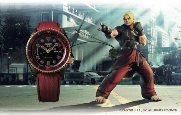 Seiko 5 Sports Street Fighter Watches 2