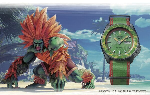 Seiko 5 Sports Street Fighter Watches 5